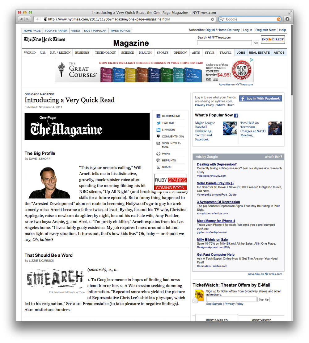 Staff Pick - Page One: Inside the New York Times - Ryerson